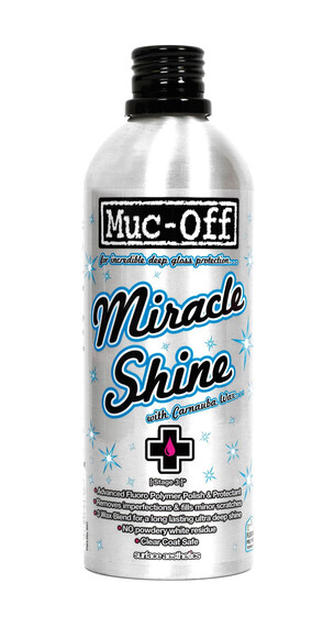 Muc-Off Miracle Shine Polish Cykelrengöring 500ml silver